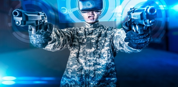 Игра вшлеме HTC Vive Cosmos вклубе Hyperspace
