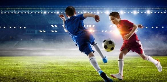Занятия пофутболу всети детских футбольных школ «Олимпик»