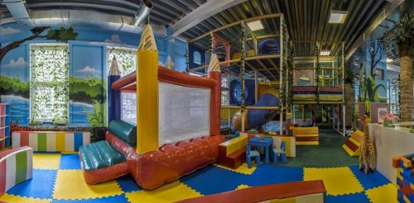 Целый день развлечений вдетском игровом центре «Маугли»