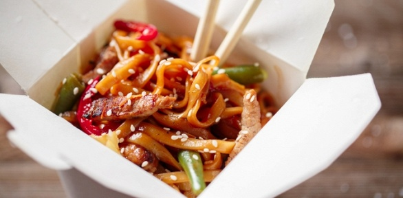2, 3или 4порции wok отслужбы доставки King Set