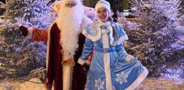 Поздравление откомпании «Служба Деда Мороза»