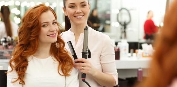 Стрижка, процедуры для волос всалоне красоты «Ангел»