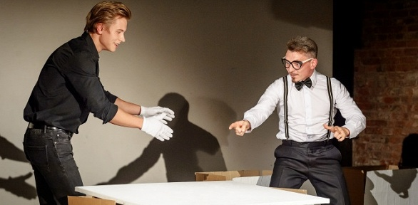 Театральный эксперимент Art [Men] влофте «Компас-центр»