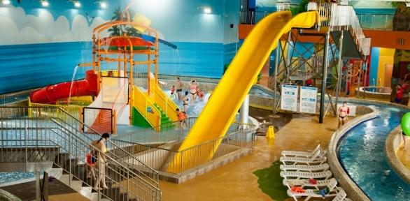 Безлимитное посещение для взрослых идетей аквапарка «Лимпопо»