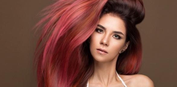 Стрижка, укладка иокрашивание волос всалоне красоты «СабЭль»