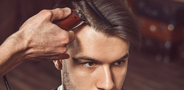 Мужская идетская стрижка всалоне-парикмахерской «НаГвардейской»