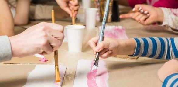Курс рисования, арт-вечеринка отстудии «Арт-веранда.дети»