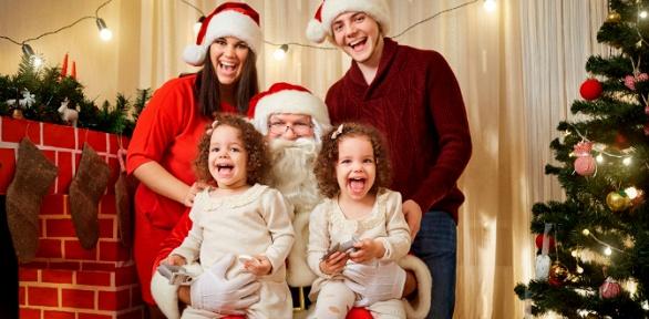 Поздравление отДеда Мороза отагентства Lucky Family