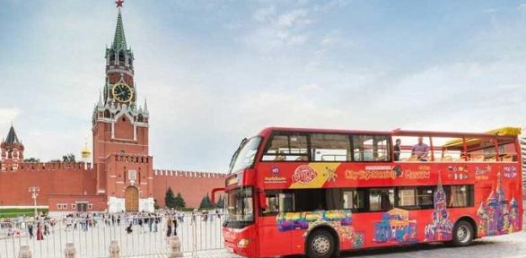 Обзорная экскурсия откомпании City Sightseeing Russia
