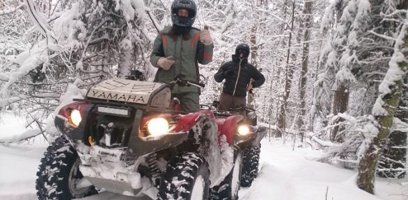 Заезд наквадроцикле откомпании Kvadrmoto