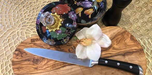 Набор изнемецкого ножа идоски изоливкового дерева