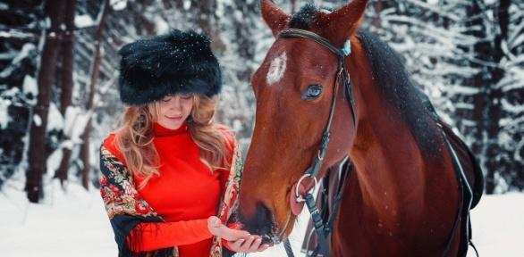 Конная прогулка на лошадях или пони в клубе «Талисман»
