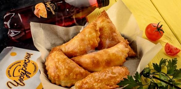 2чебурека и2напитка вчебуречной «ЧебурекМи»