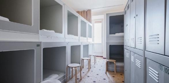Отдых вцентре Москвы для одного или двоих вкапсульном отеле «Соты»