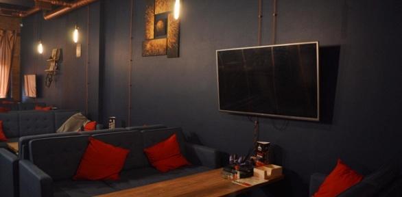 Паровые коктейли ичайное меню вlounge-пространстве «Гараж» заполцены