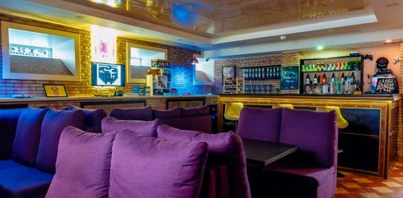 Отдых спаровым коктейлем и чаем вантикафе Pixel Lounge
