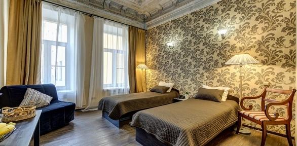 Отдых в гостевых комнатах Inter-apart on Marata, 8