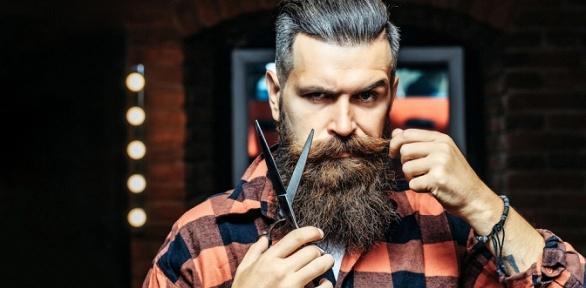 Мужская стрижка, оформление бороды вбарбершопе MadMan
