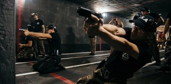 Стрельба изогнестрельного оружия вспортивном клубе «Волк»
