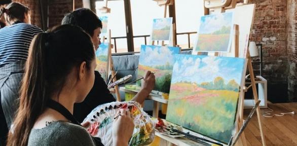 Посещение творческого мастер-класса навыбор отшколы «Возьми кисть»
