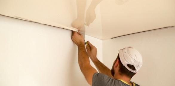 Изготовление, доставка имонтаж бесшовного натяжного потолка