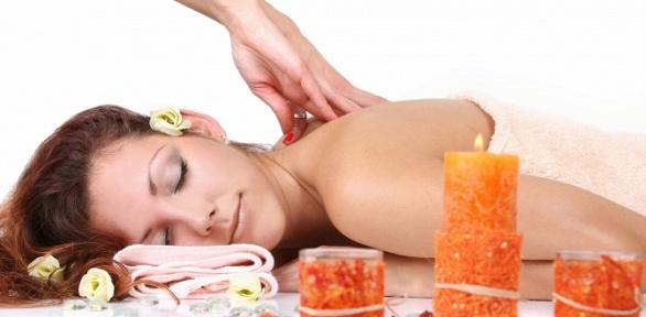 Сеансы массажа на выбор отсалона красоты «Мята»
