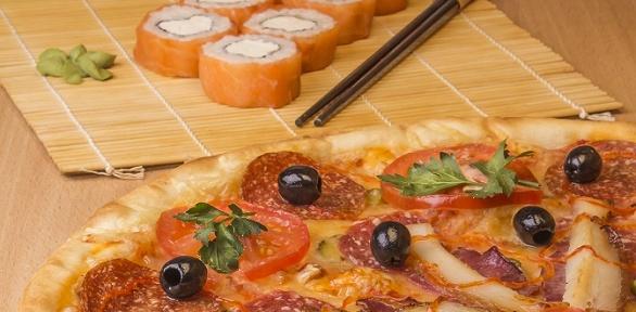 Сертификат наяпонское меню именю пиццы отгородского кафе «МистерЧу»