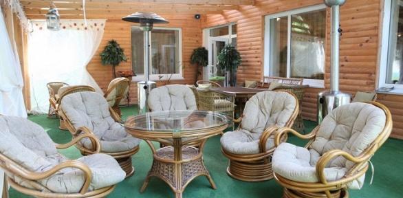 Романтический уикенд или отдых для двоих взагородном отеле «Березки»