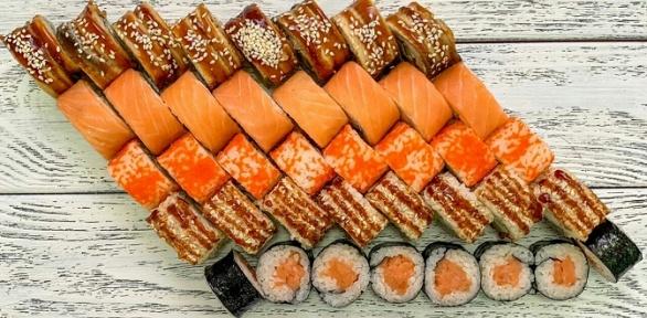 Суши-сеты отслужбы доставки Sushi Pizza Wok