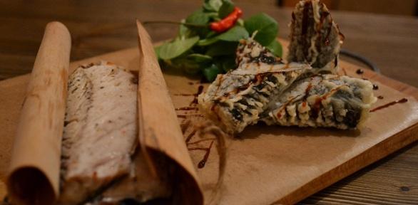 Блюда в ресторане «Бардак» за полцены