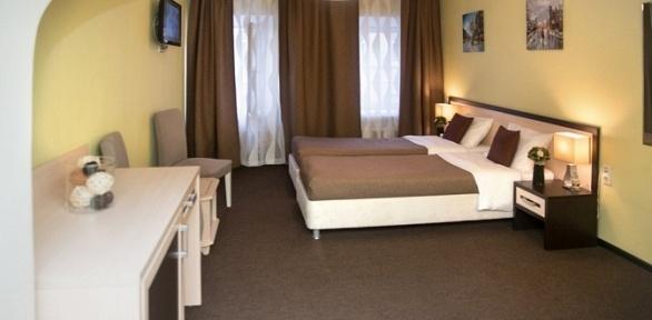 Отдых вцентре Москвы сзавтраком или без вапарт-отеле «Наумов»