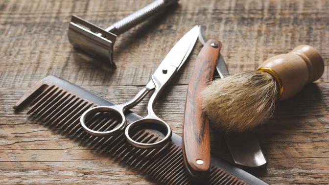 Скидка до 50%. Мужская идетская стрижка, стрижка бороды или комплекс «Отец исын» вбарбершопе «Как жених»