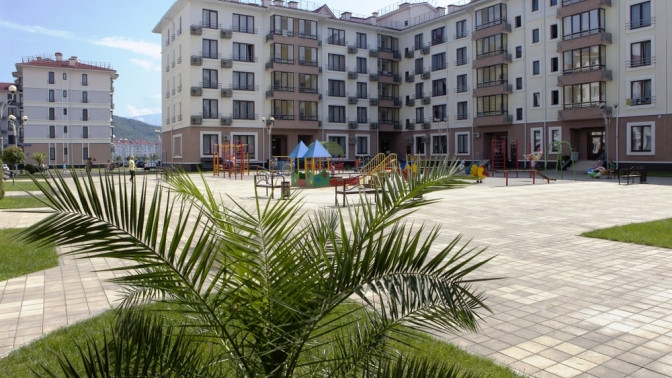 Скидка до 65%. Отдых вСочи напобережье Черного моря рядом спарком развлечений Сочи Парк вотеле Gamma Sirius Park3*