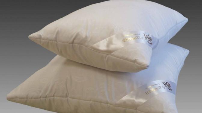 Скидка до 50%. 1или 2экоподушки Sanita Eco, Duvet Luxe, Atica Bio Comfort либо Jasmine Bio White